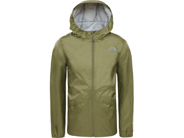 The North Face Zipline Veste imperméable Fille, four leaf clover